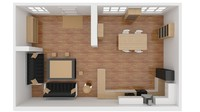 apartment 3d 3ds