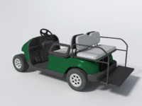 blender golf cart