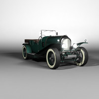 bentley le mans 3d model