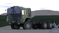 military trucks 3d max