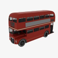 3d english city bus
