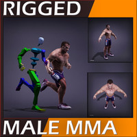 3ds realistic male body -
