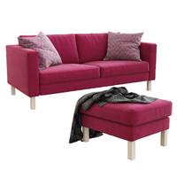 ikea karlstad sofa footstool 3d max