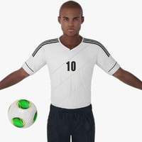 maya soccer player character rigging