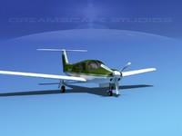 propeller piper arrow iii 3d model