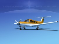 3dsmax propeller piper arrow iii