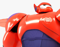 baymax big hero 6 3d dwg