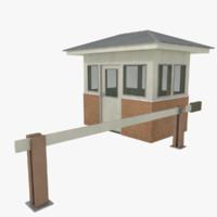 3d gate house