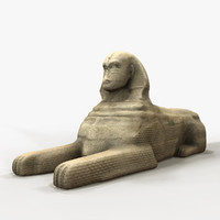 3d great sphinx