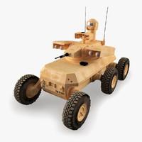 3d model of army mule