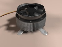 cpu fan 3d max