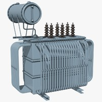 electrical transformer 3d 3ds