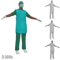 3d model of x 2 man protection