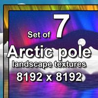 Arctic Pole Landscape 7x Textures