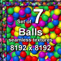Balls 7x Seamless Textures