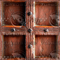 Old wood door panel 1