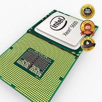 3d model cpu intel xeon 5600
