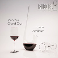 Riedel decanter and glass