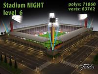 3d stadium level 6 model