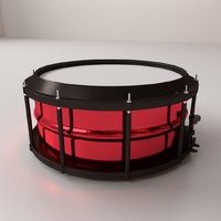 3d 3ds snare drum