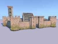 3dsmax castle ready