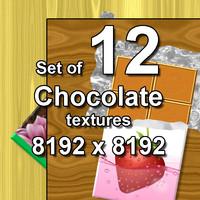Chocolate 12x Textures