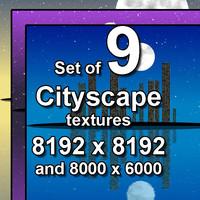 Cityscape 9x Textures