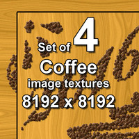 Coffee Images 4x Textures