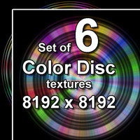 Color Disc 6x Textures