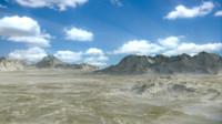 blend desert terrain