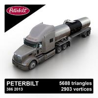 2013 386 tanker 3d fbx