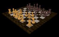 3d model xadrez