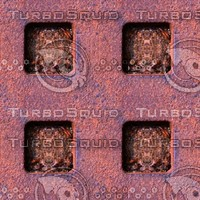 Rusty metal grid 3