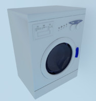 3d washing machine model