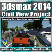 3ds max 2014 Master in Civil View Subscription