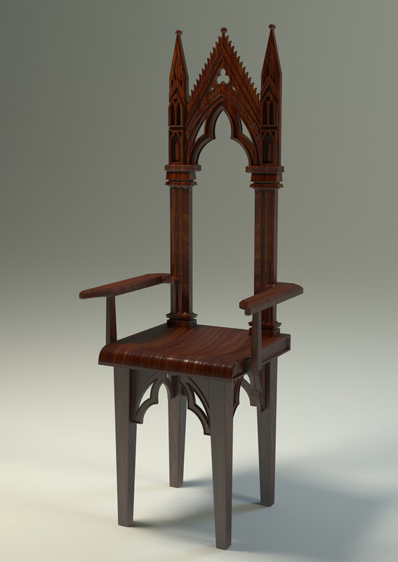 Gothic furniture chair - Gothic Chair