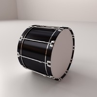 bass drum 3ds