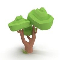 max cartoon tree