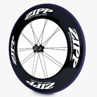 3d racing bicycle wheels model