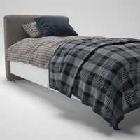 Lugano Bed Single BoConcept
