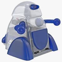 3d 3ds infrared moving robot robo