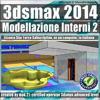 3ds max 2014 Modellazione Interni Subscription