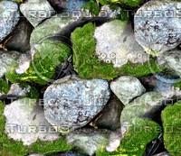 Mossy stone wall 1