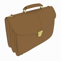 document bag 3d model
