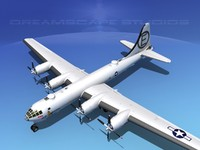 3ds max superfortress b-29 bomber
