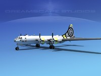 lightwave superfortress b-29 bomber