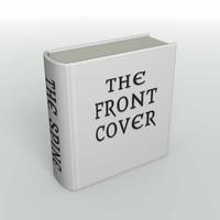 free book hardback 3d model
