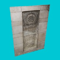 3ds max roman bas relief 2