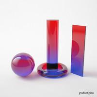 Vray Materials - Elements v01