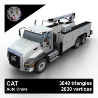 maya cat auto crane